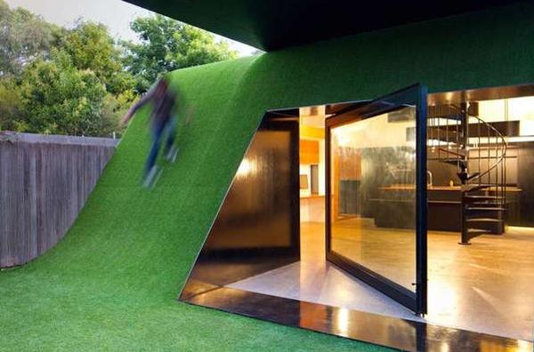 Green Small House Design Ideas