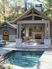 14 Comfortable And Modern Backyard Pool Ideas