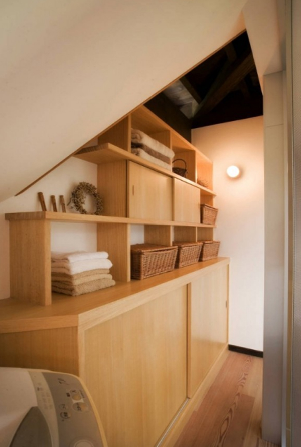 Contemporary Japanese House With Traditional Storage Ideas