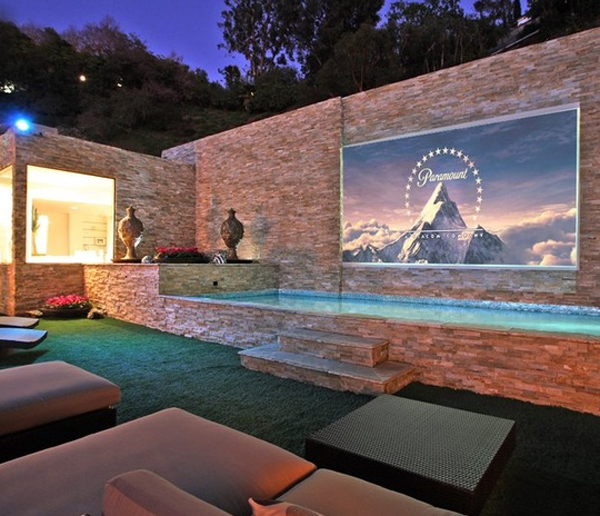 Backyard Theater System backyard movie theater systems – liguedetirpc design