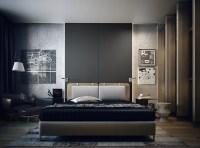 Masculine Apartment Ideas: Contemporary Art by KO+KO