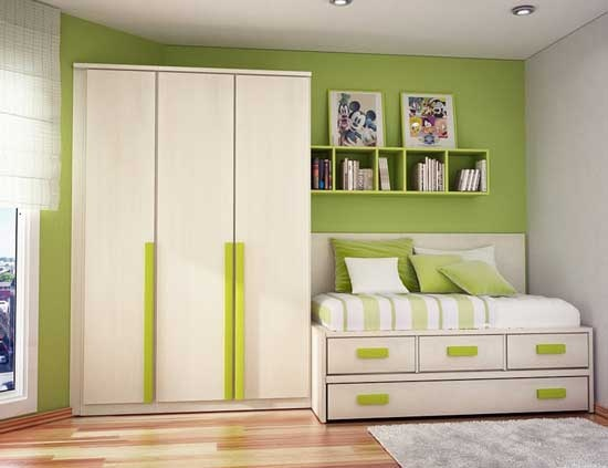 Green Teen Bedroom Ideas Homemydesign