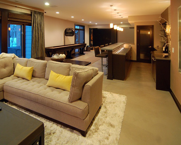 basement living rooms cost to paint room from ideas home design and interior