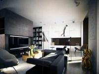 Masculine Apartment Ideas: Contemporary Art by KO+KO ...