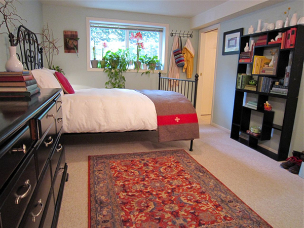Small and Colorful Bedroom With Organized Ideas  Home