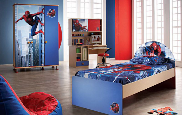 Spiderman Bedroom Pictures