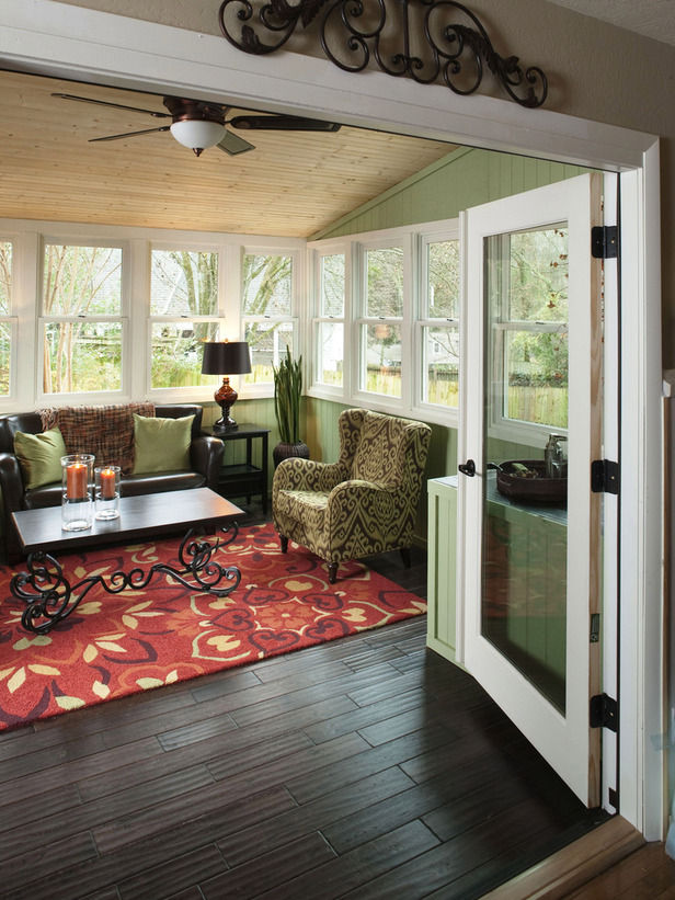 sunroom living room ideas with black couches sunrooms furniture home design and interior