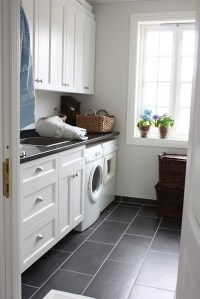 10 Black and White Laundry Room Design Ideas | Home Design ...
