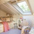 Attic bedroom design in spanish