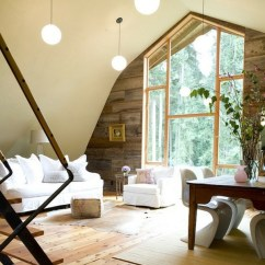 Living Sofa Design Antique Style Sleeper Bright-attic-room-ideas
