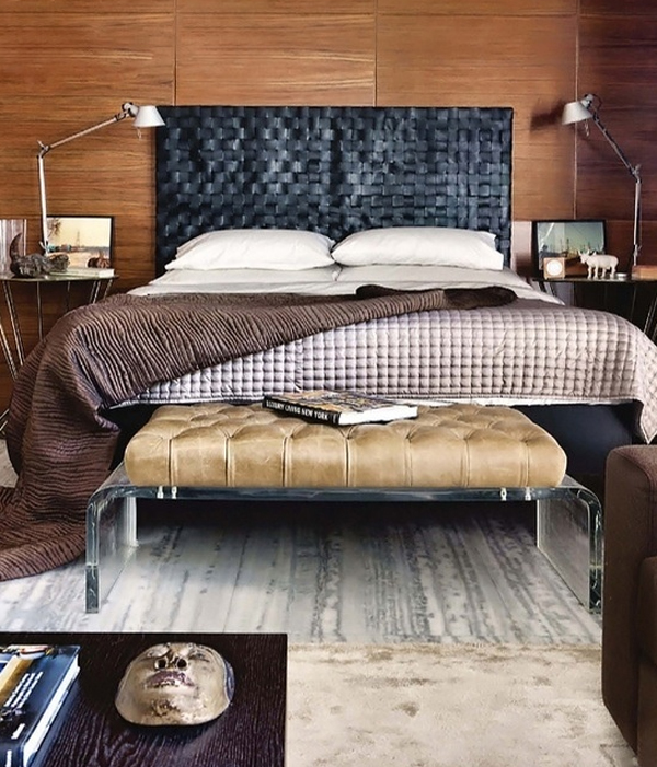 Cool And Masculine Bedroom Ideas Home Design And Interior