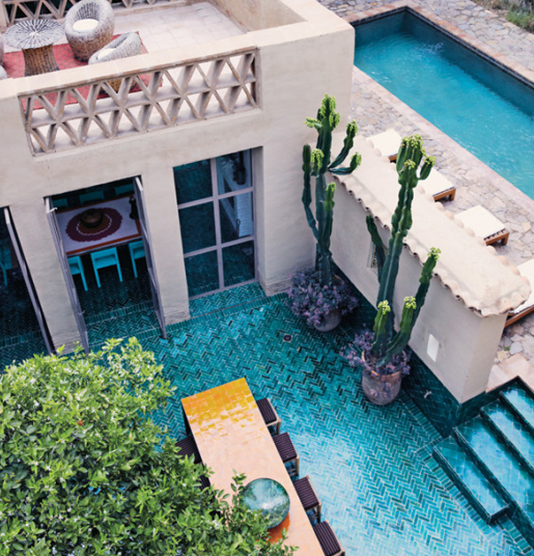 Traditional House With Pool In Morocco