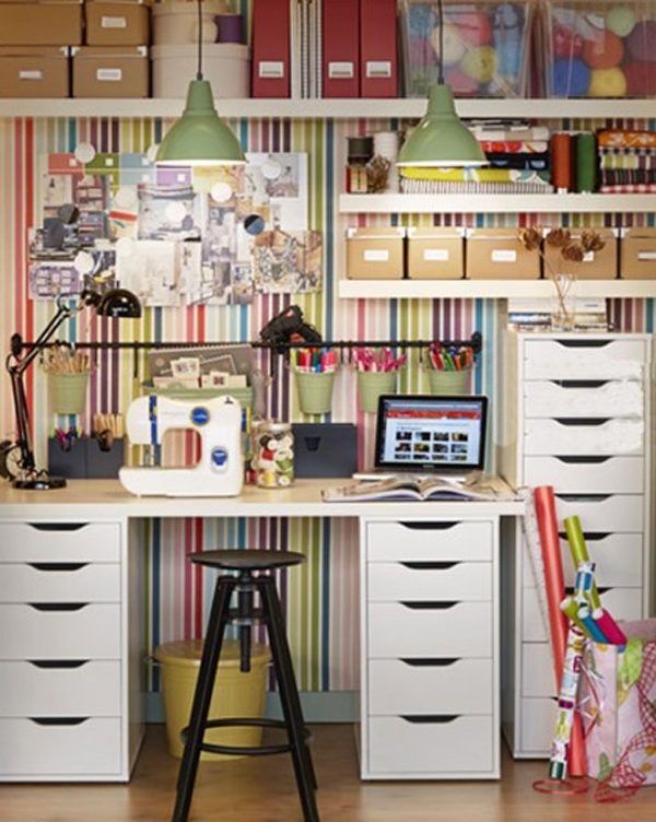 15 Ikea Home Office With Craft Ideas Home Design And Interior
