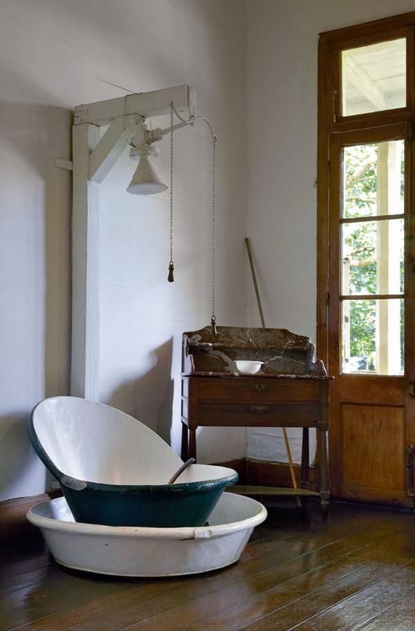 Inspiring Bathrooms with Original Interiors  Home Design And Interior