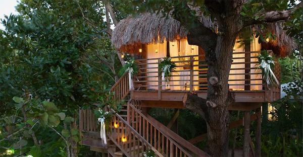 Romantic Tree House Ideas