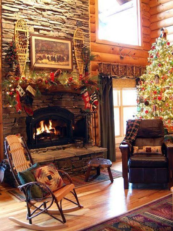Scandinavian Chistmas Fireplaces