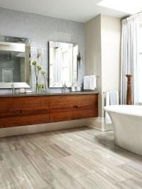 10 Wood Bathroom Floor Ideas | Home Design And Interior