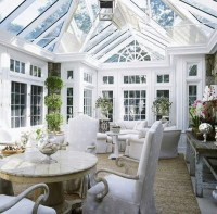 25 Stunning White Sunroom Ideas | Home Design And Interior