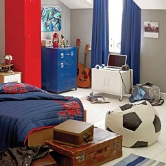 Children S Pull Out Sofa Leather Set Deals Uk 15 Awesome Kids Soccer Bedrooms | Home Design And Interior