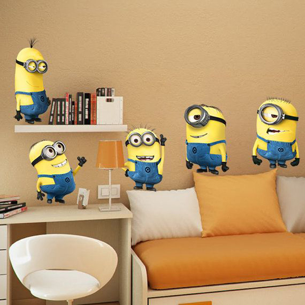 Kids Bedroom Ideas With Minion Theme Home Design And