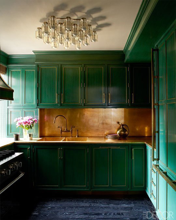 green kitchen cabinets red valance dark cabinet home design and interior
