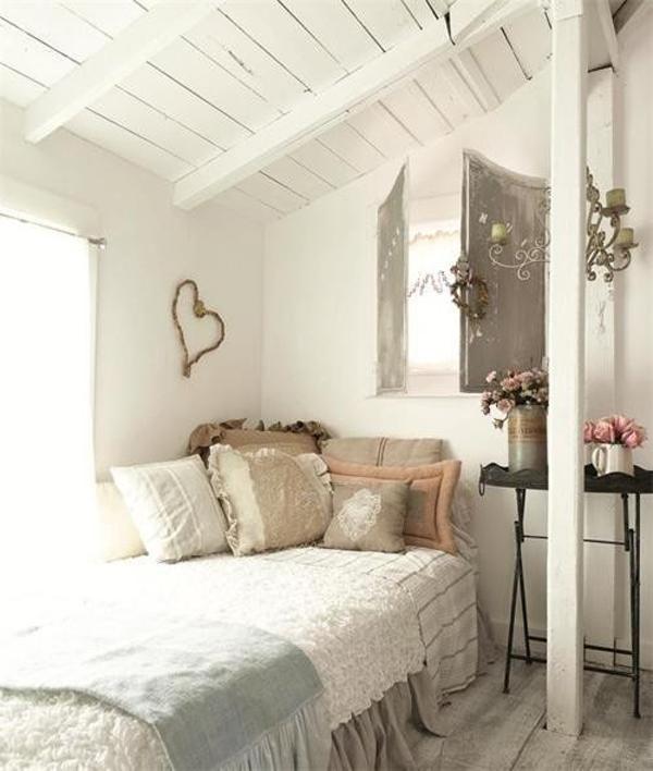 Romantic Bright Attic Bedrooms