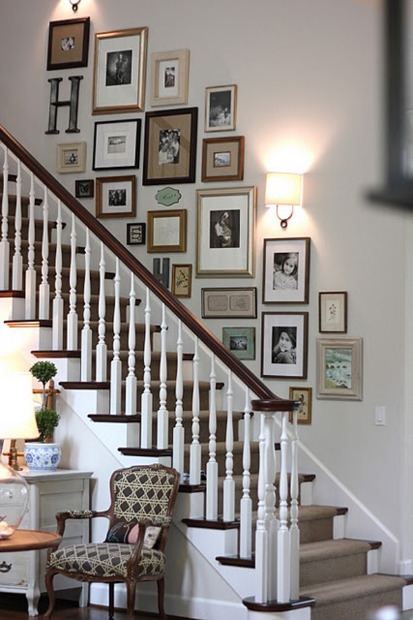 Gallery Wall Ideas For The Stairs