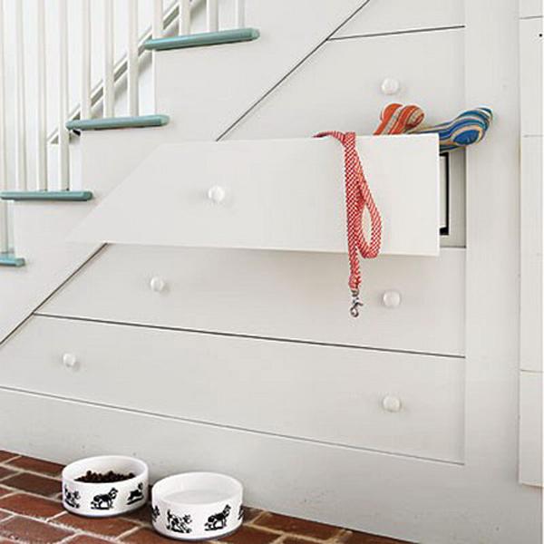 Storage Cabinet Under Stairs Design