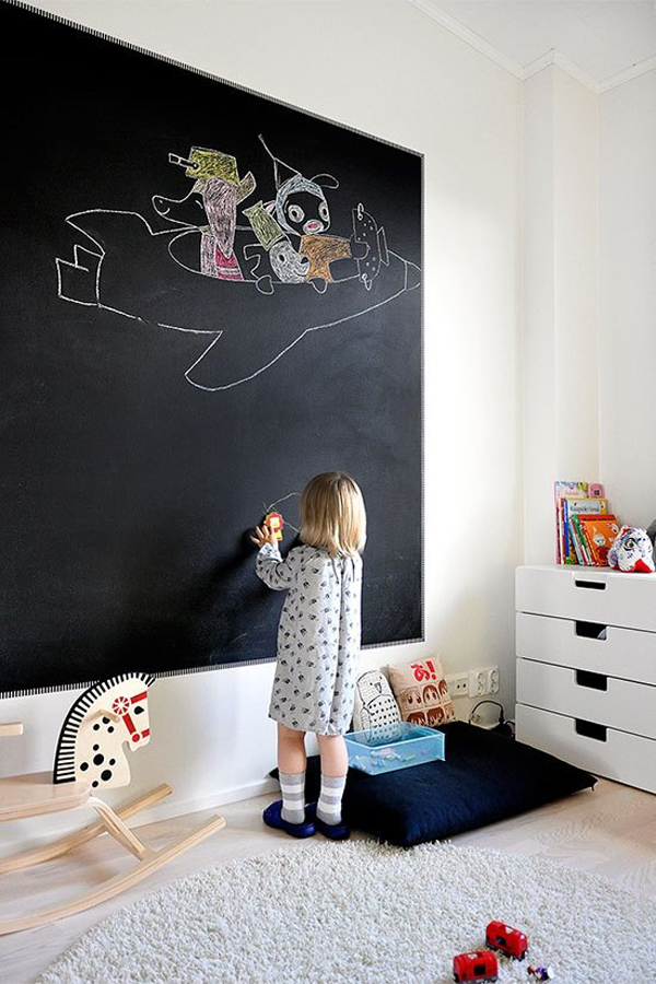 20 Awesome Kids chalkboard Ideas  Home Design And Interior