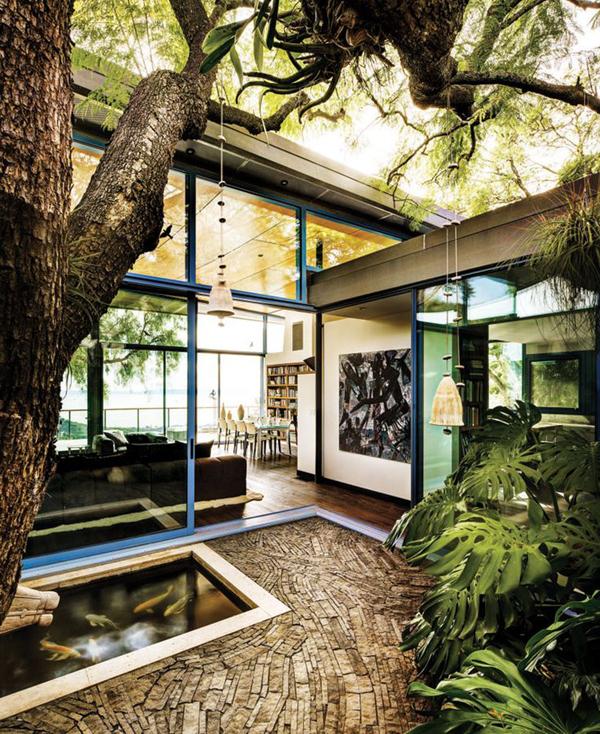 20 Beautiful Indoor Courtyard Gardens Home Design And