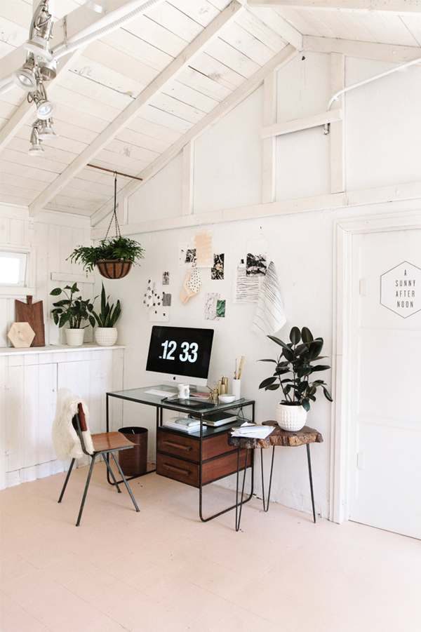 Simple Home Office Plants