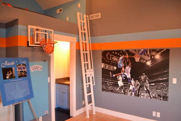 Basketball Bedroom Decor