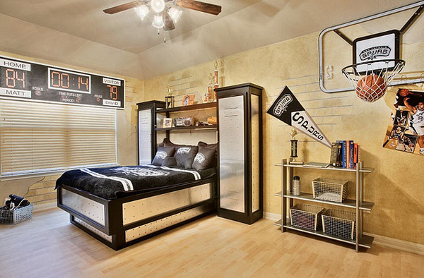 20 Sporty Bedroom Ideas With Basketball Theme Home Design And. Basketball Themed Bedroom Furniture   Bedroom Style Ideas