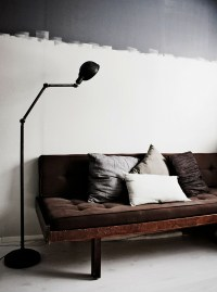 20 Inspiring Half-Painted Wall Decor Ideas | Home Design ...