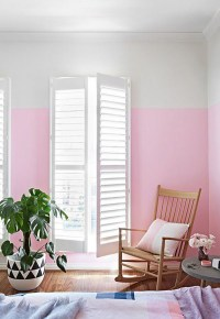 pink-half-painted-wall-decor-ideas
