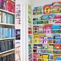 Gallery of 20 wonderful kids book display ideas