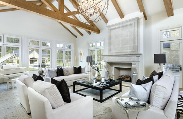 Kim Kardashian Bel Air House Interior