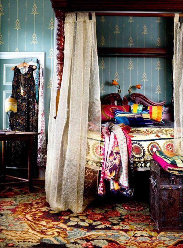 colorfulgypsybedroominteriordesign