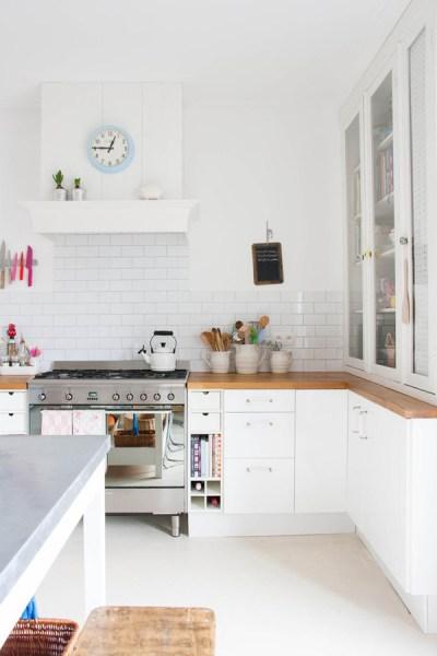 scandinavian white kitchen 35 Warm And Cozy Scandinavian Kitchen Ideas | Home Design
