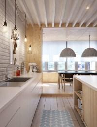 cozy-wooden-scandinavian-kitchens  HomeMydesign