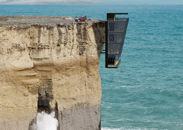 The Most Amazing Cliff House Ideas