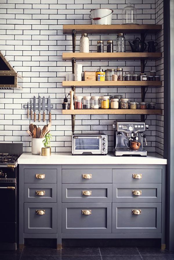 West Village Kitchen Shelving