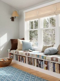 15 Stylish Built-In Reading Nooks | Home Design And Interior