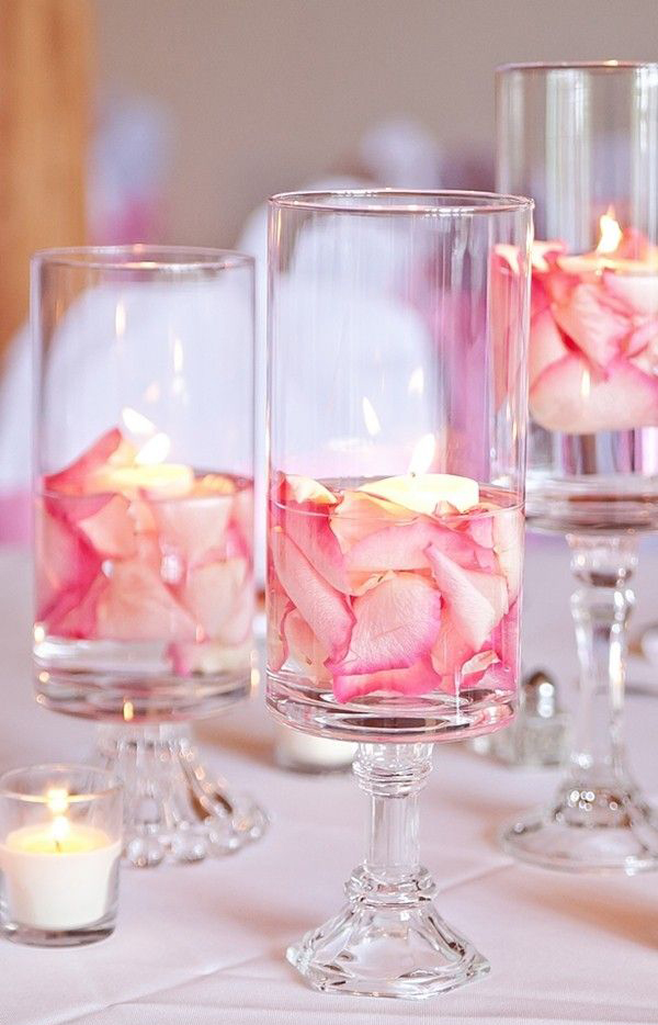 pinkvalentineweddingtableglass