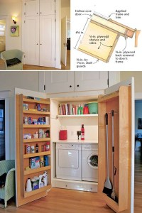 12 Tiny Laundry Room With Saving Space Ideas | Home Design ...