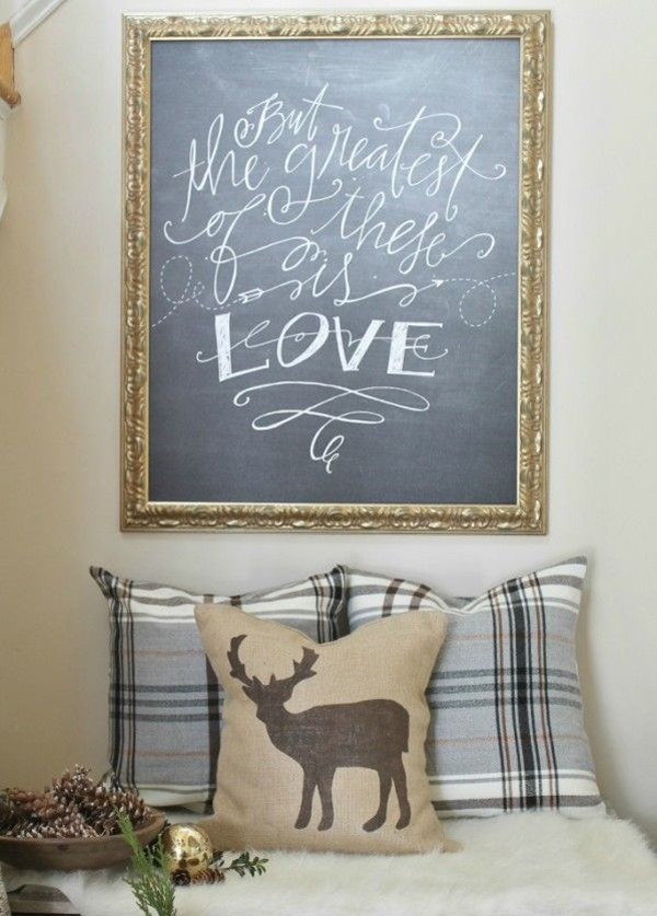 15 Romantic Chalkboard Ideas For Valentines Day  Home Design And Interior