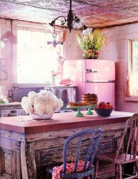 15 Shabby Chic Bohemian Kitchen Ideas | Home Design And ...