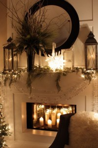20 Romantic Fireplace Candle Ideas | Home Design And Interior