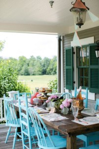 15 Outdoor Bohemian Dining Room Ideas | Home Design And ...