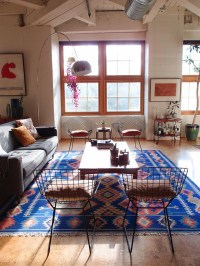 electic-blue-kilim-rugs-living-room